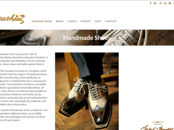 Handmade shoes ( Landing Page )